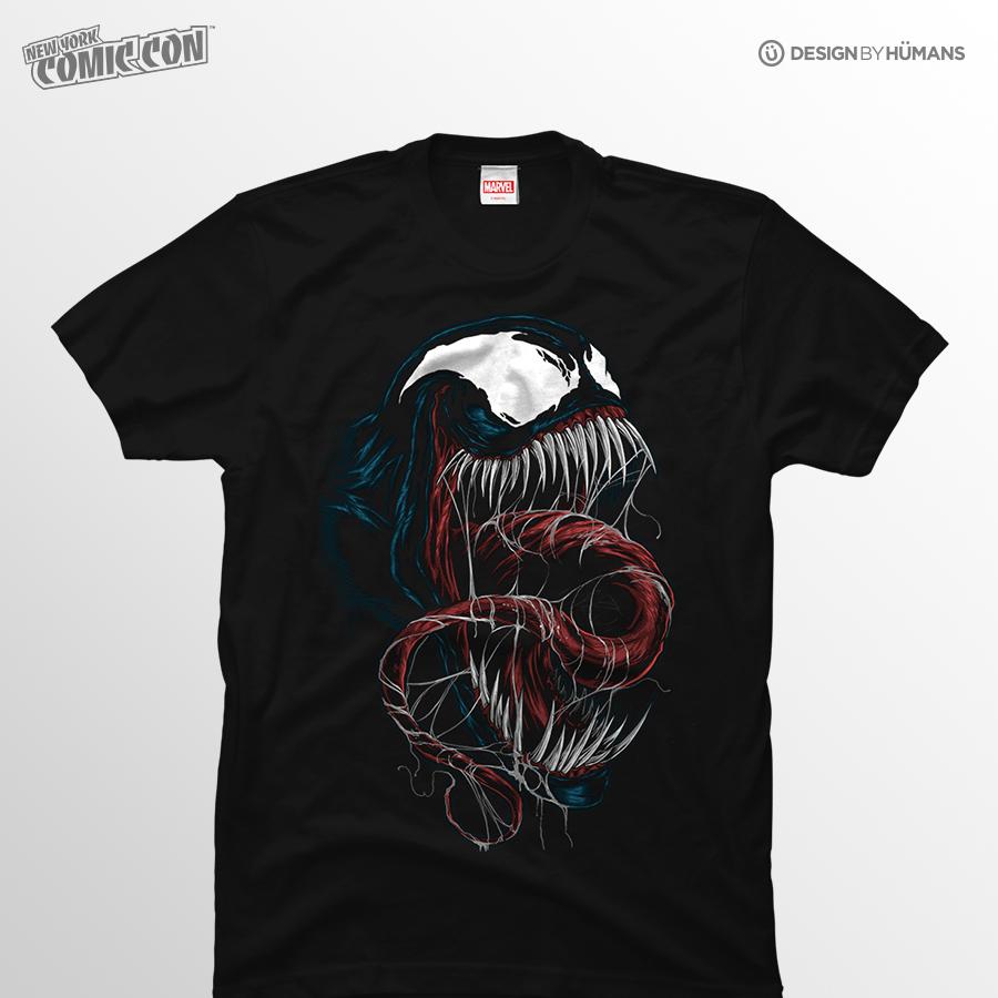 Venom Unhinged   Marvel - Men's Tshirt   Men's S - 5XL   $27