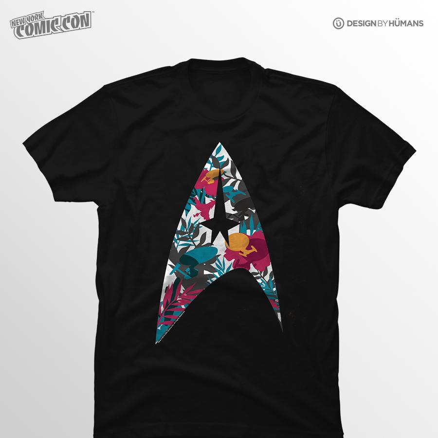 Tropical Starfleet   Star Trek - FANSHOP Community Made Design   Men's S - 5XL   $27