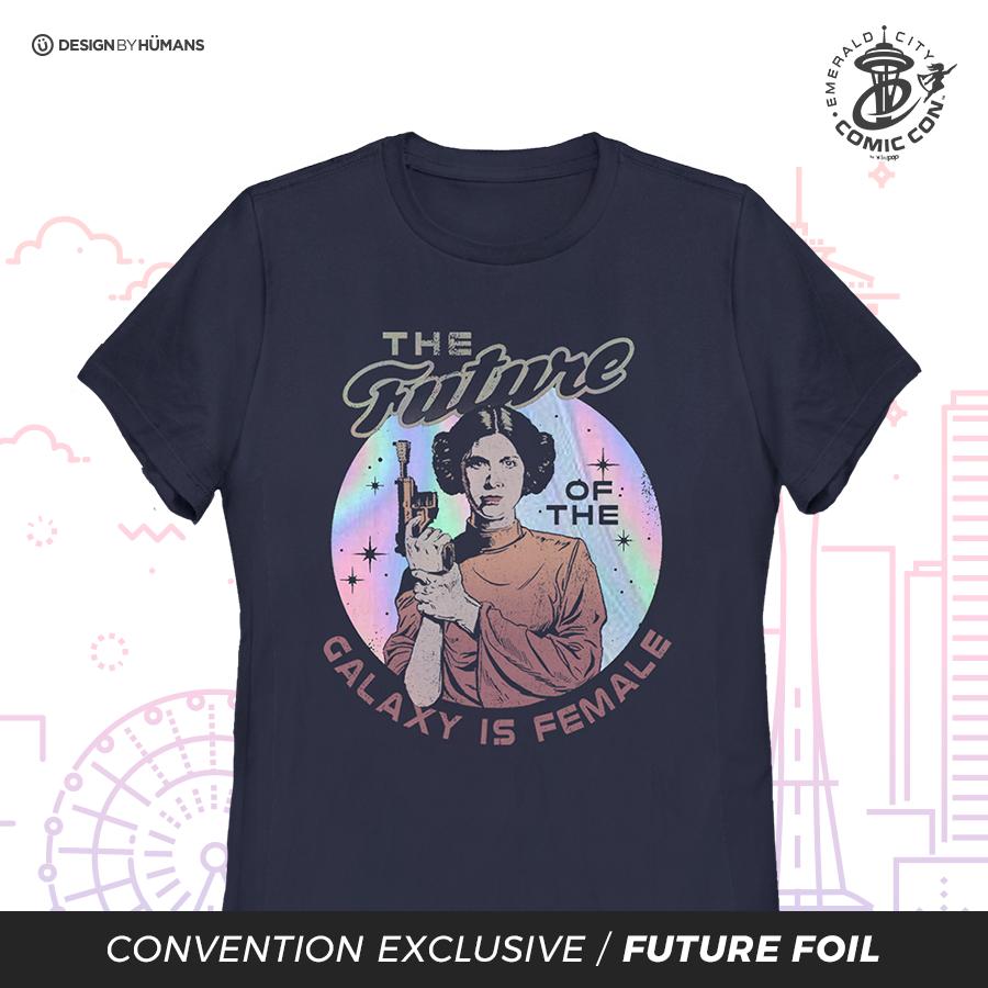 Future Is Female - Women's Tee Future Foil Print | Women's S - 3XL | $28