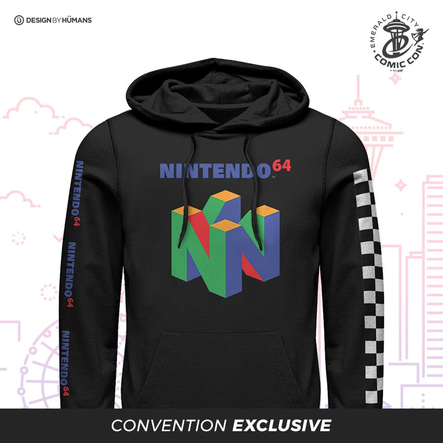 N64 Logo - Men's Pullover Hoodie | Men's S - 3XL | $55