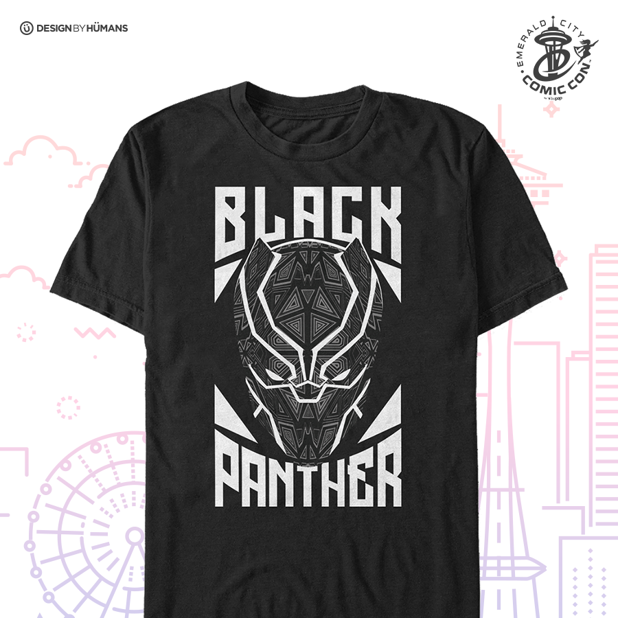 Black Panther Stamp - Men's Tee | Men's S - 5XL | $28