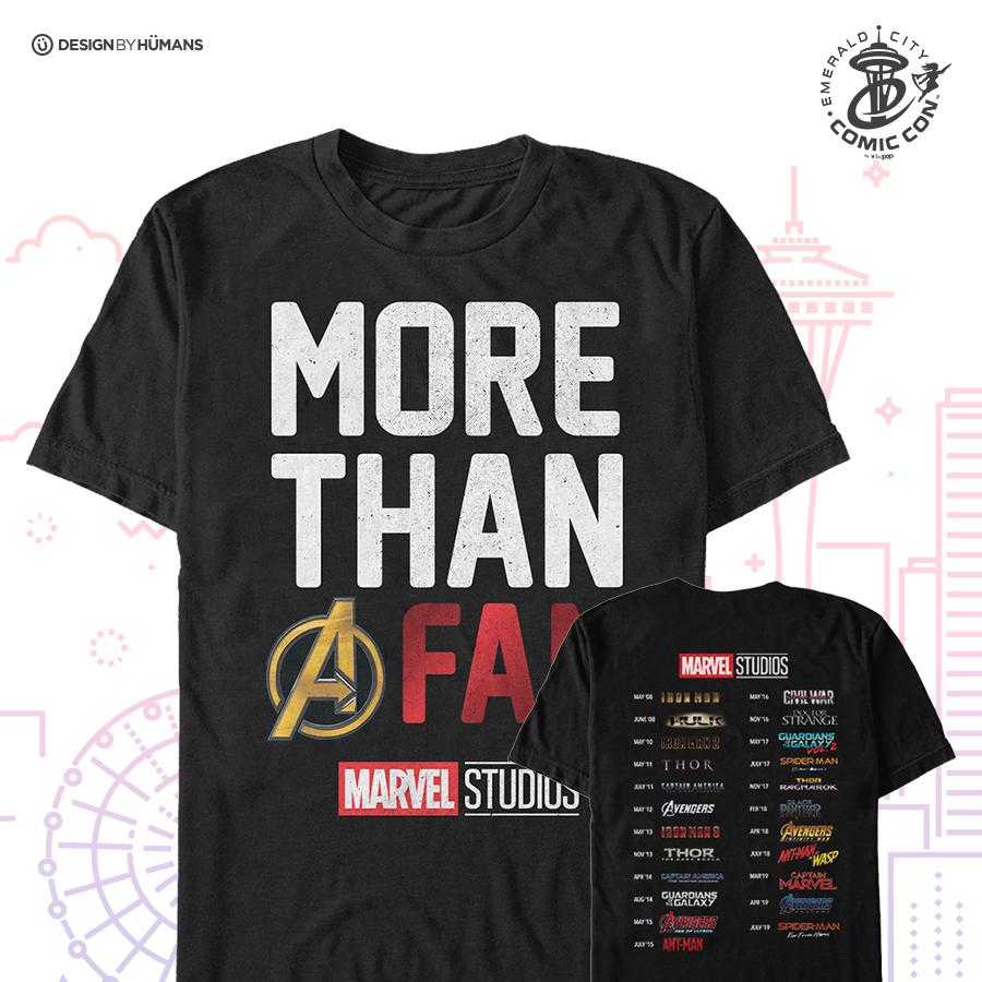 More Than A Fan - Men's Tee| Men's S - 5XL | $28