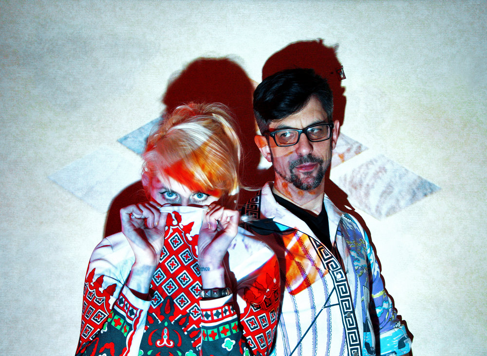 """Sleepy Kitty - St. Louis-based indie rockers Sleepy Kitty, featuring Paige Brubeck on vocals/guitar and Evan Sult (former Bound Stems and Harvey Danger) on drums/tapes, makes what NYLON magazine describes as """"rainbow-tinged indie pop"""