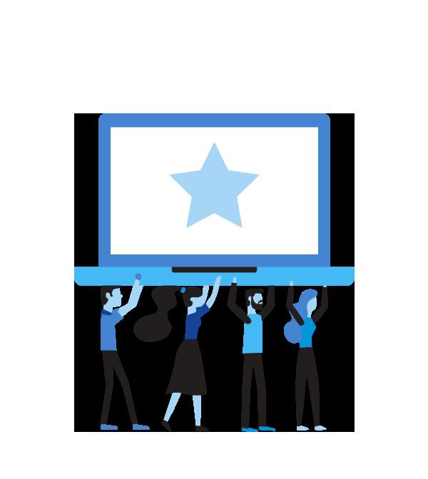 Compromiso - Un equipo con una ética de trabajo enfocada en el cumplimiento con eficiencia.