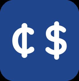 Multi-Moneda - Las transacciones pueden ser registradas en diferentes monedas. Automáticamente se realiza la conversión del tipo de cambio según corresponda.