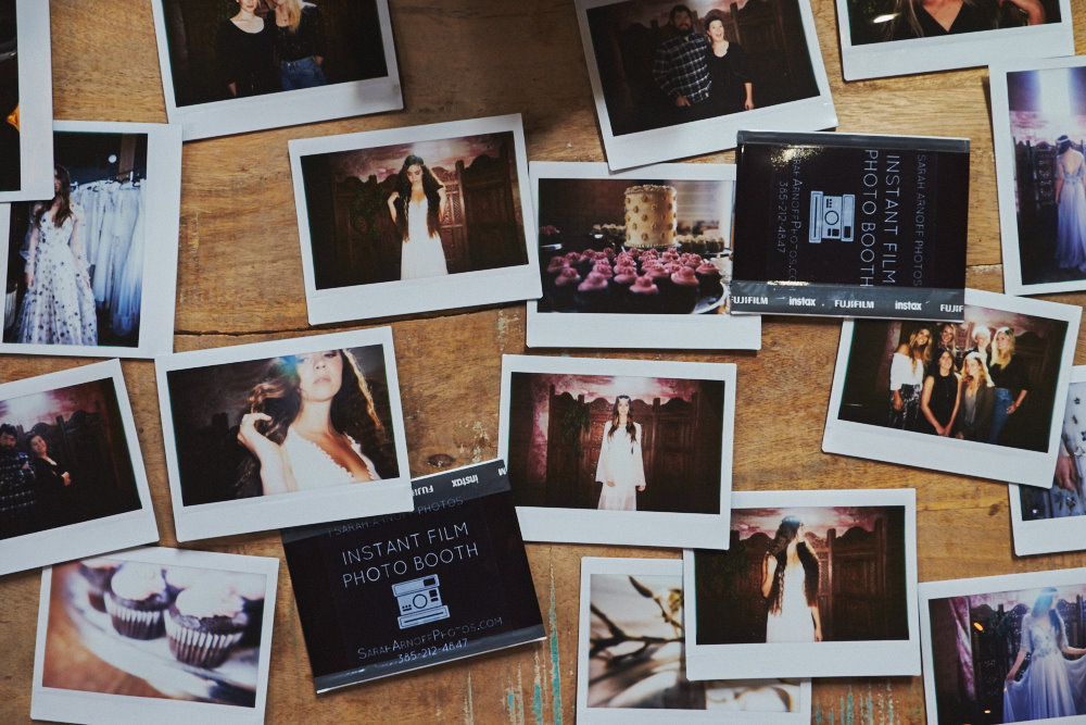 THE INSTANT FILM PHOTO BOOTH