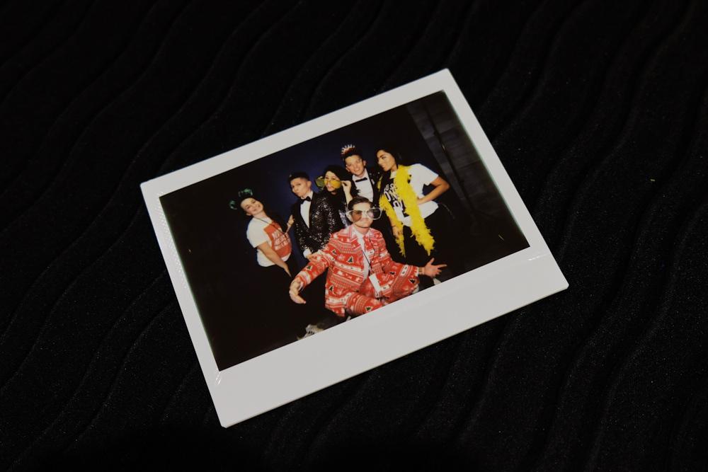 CAMERAProp BoxBackdrop100 Polaroids - $300
