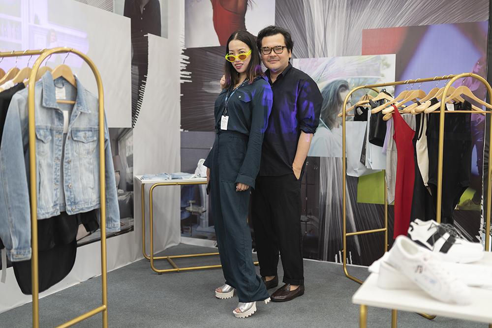 多媒体艺术家兼Global Intuition挚孓创始人YiZhou周依, 现代传播集团时尚总监Tim Lim