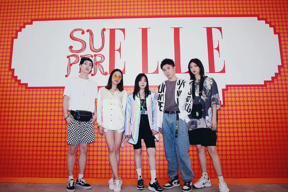 Yi Zhou's talk with Super Elle china during sneakercon