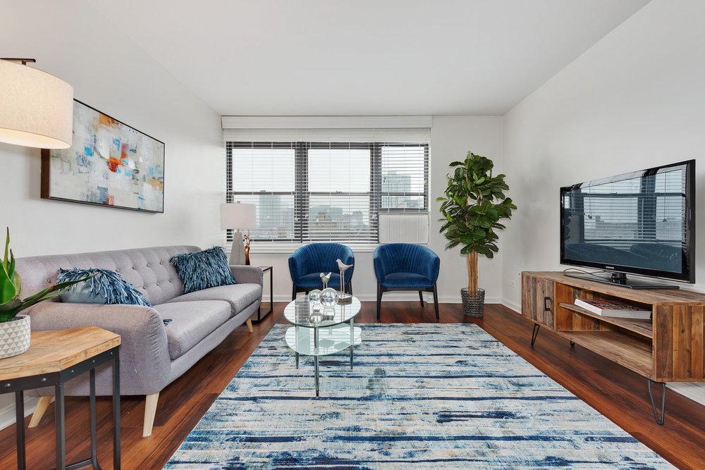 510 W Belmont - Living Room 1