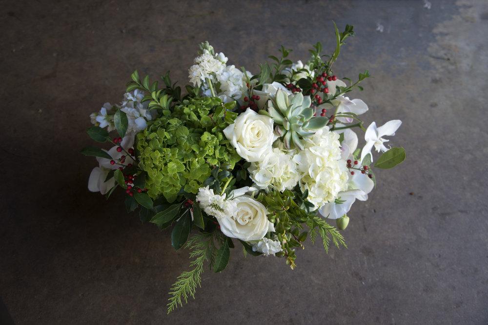 christmas centerpiece mitchs flowers monique chauvin succulents fresh cut flowers .jpg