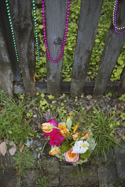 mitchs flowers fresh cut arrangement sending flowers new orleans mardi gras beads stephanie tarrant.jpg