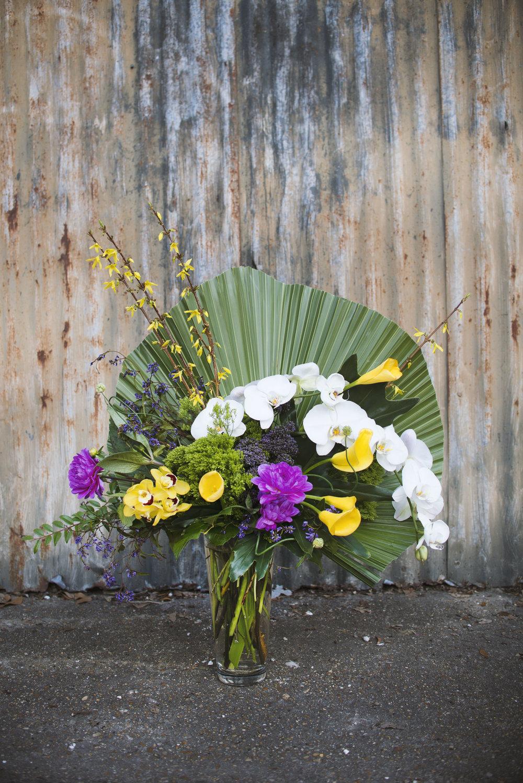 mitchs flowers mardi gras centerpiece comus rex boheme krewe floral design neworleans florist stephanie tarrant2.jpg