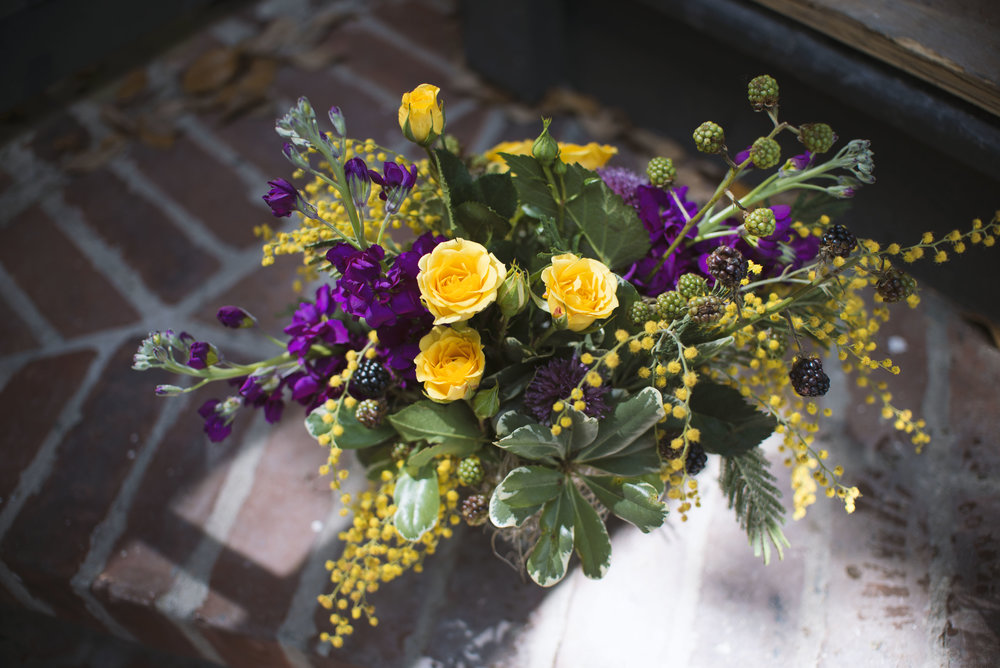mitchs flowers mardi gras centerpiece comus rex boheme krewe floral design neworleans florist stephanie tarrant 3.jpg