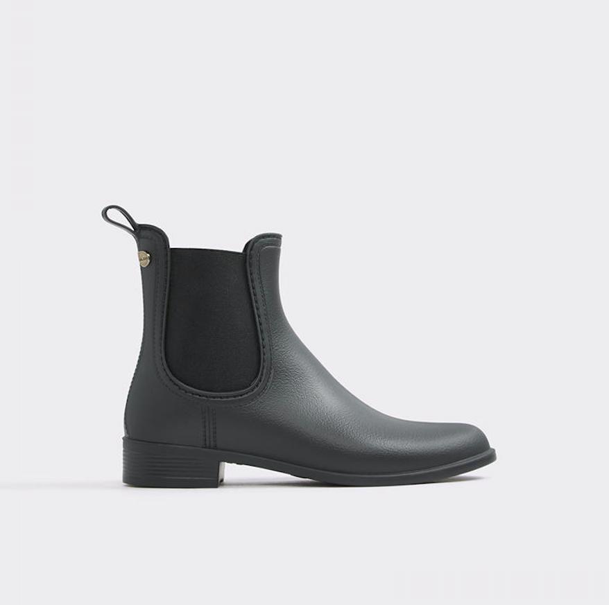 Brilasen Black Leather Bootie - @aldo