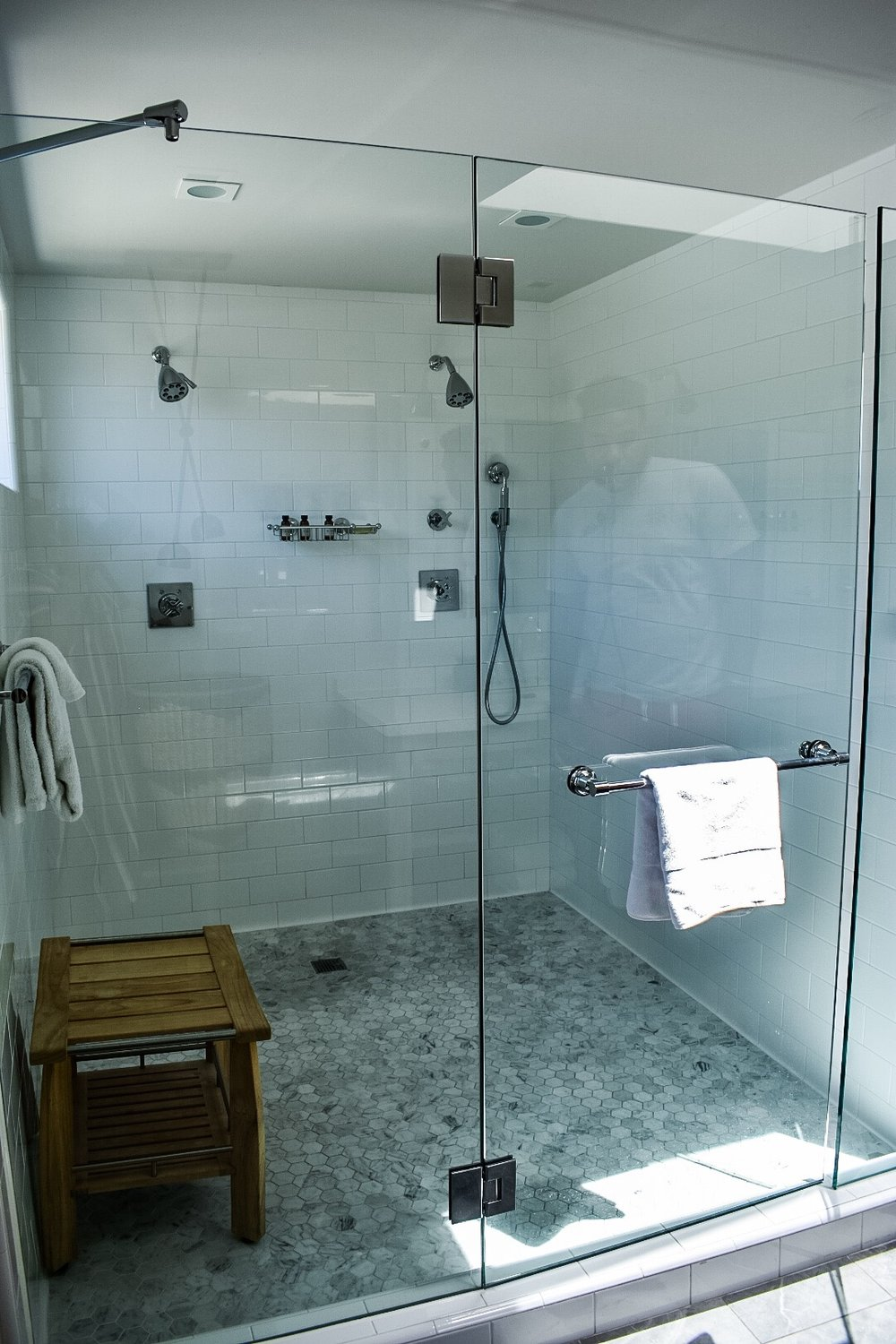 This photo doesn't do the shower justice