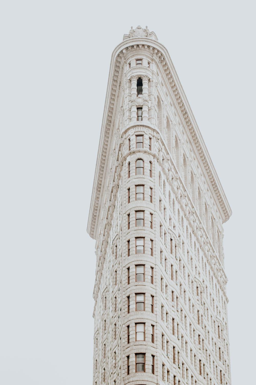 The infamous Flatiron Building