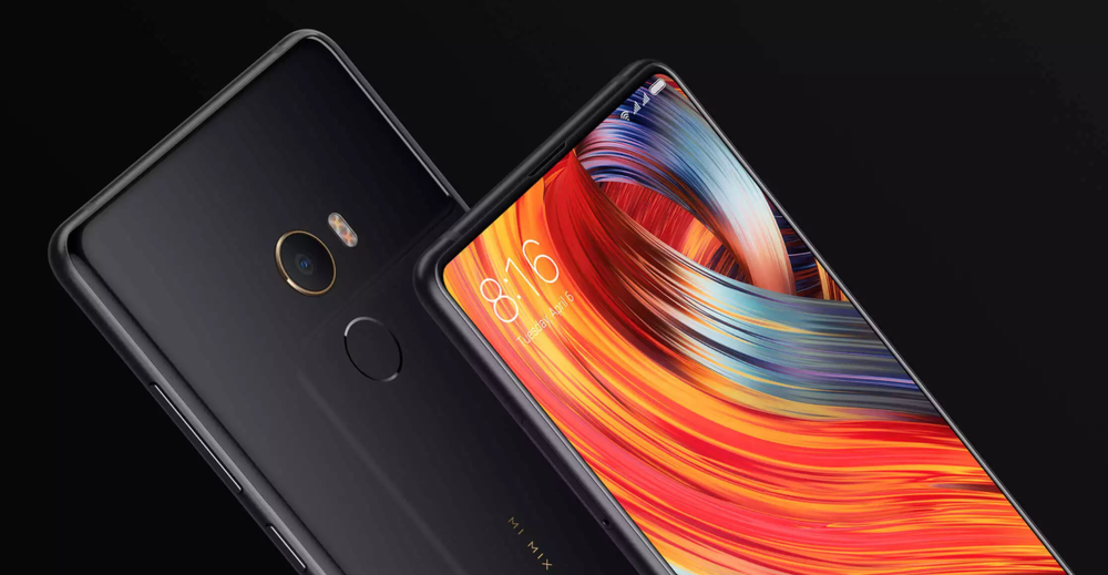Xiaomi Mi Mix 2S front and back
