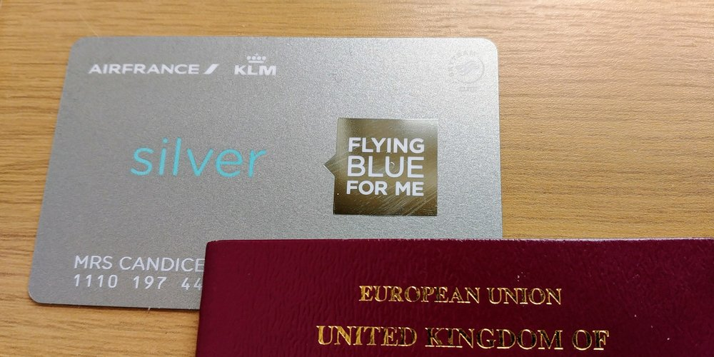 The new look Flying Blue card design.