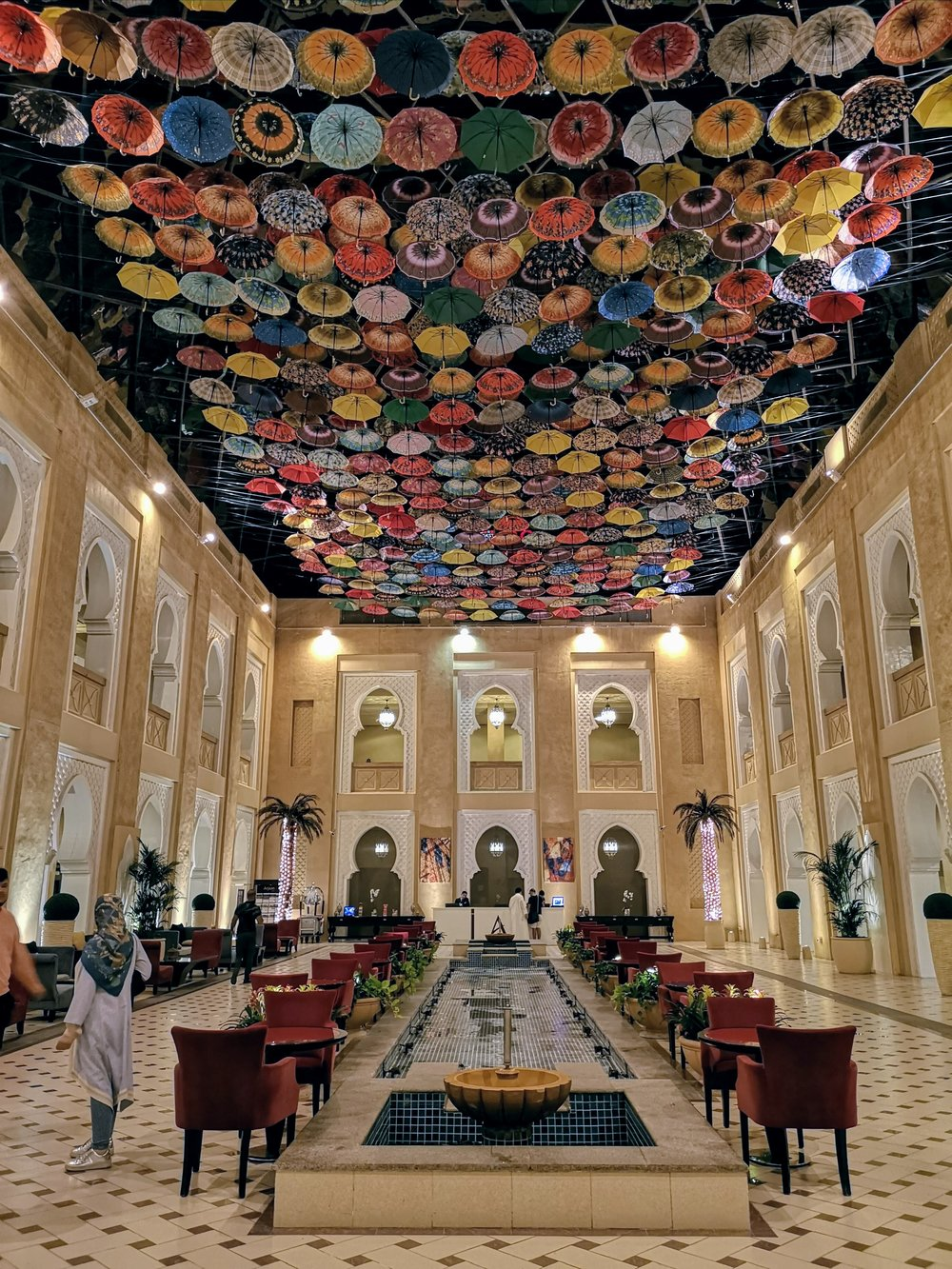 Arjaan by Rotana Dubai lobby #dubai #uae #hotel #lobby