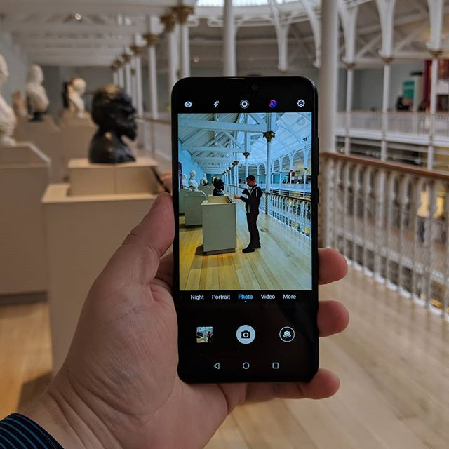 We are now filming another interesting smartphone review. Do you like our video setting? #Honor8X #android #museum #ShotOnAndroid #video #youtube #camera #PanasonicGH5