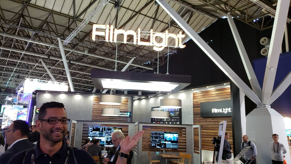 Filmlight Booth - Great time working and hanging out with the Filmlight team at IBC