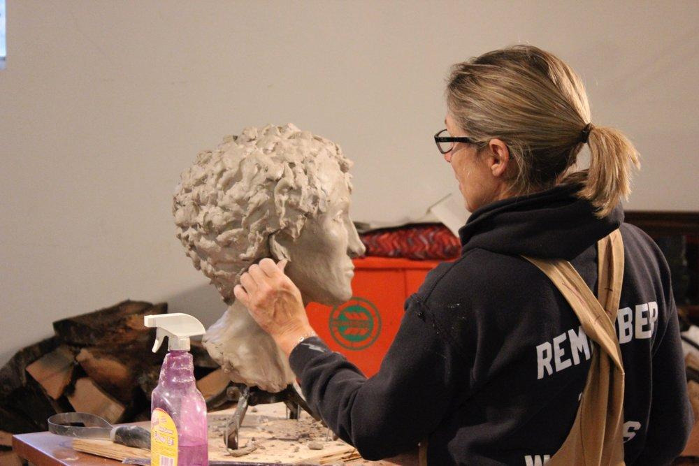 Machelle Knochenhauer - painter    sculptor    master gardener