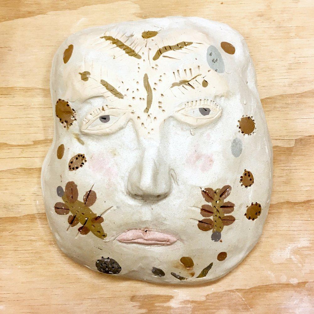 Sculptural Heads - Hand building Pottery Workshop
