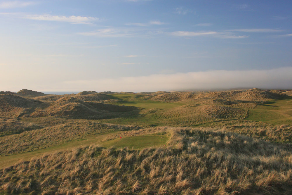 The Machrihanish Golf Club in all her glory.
