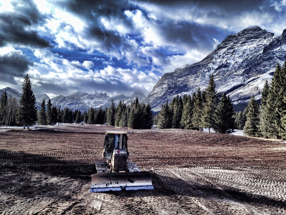 The re-shaping of Kananaskis has begun