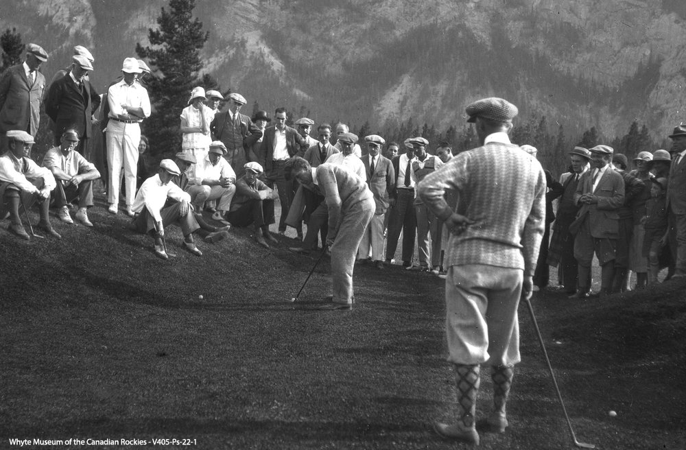 The original Banff Golf Course in its earliest form was a rudimentary 9 holes of 'pasture golf' played on an tight mowed alpine meadow/fescue type turf surface.  The course's first designer was a Scottish immigrant by the name Bill Thomson.  In 1911, the annual membership dues were $15 for men, and $5 for ladies, and 60 cents per round for Hotel guests.  The Club tried to regulate its membership acceptance to a maximum of 20 persons to ensure Hotel guests had generous access to the course.