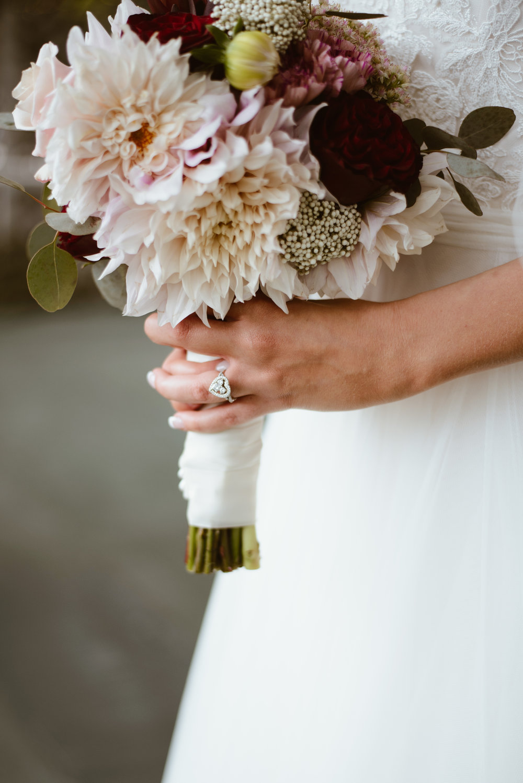 Bridals, blushing bride