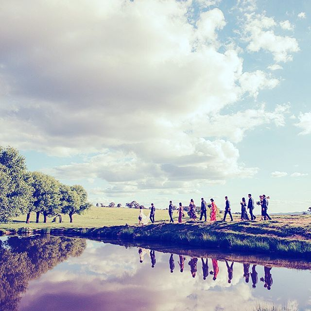 Easter Wedding clouds Oakleigh Vigneto #oakleighvignetoweddings #bathurst#orange#sarahmoorephotographer