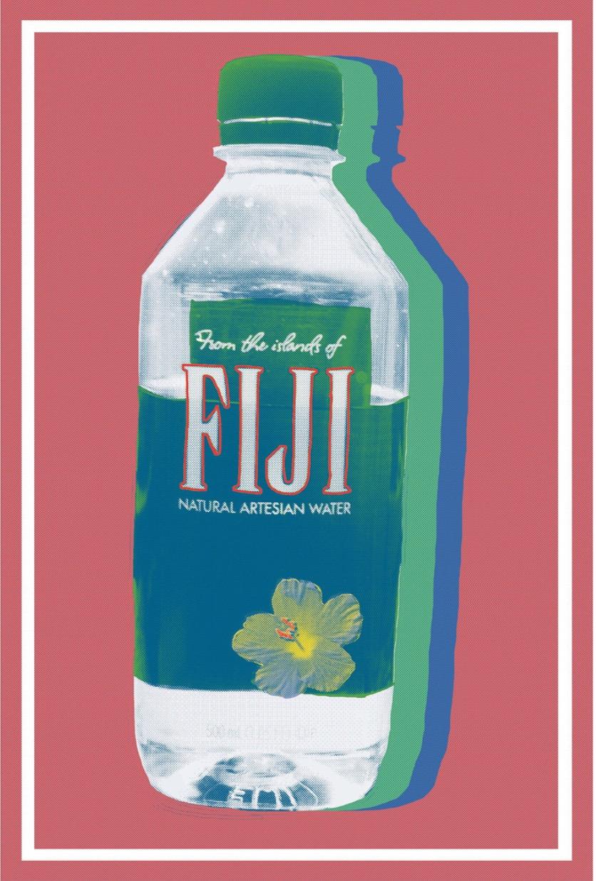 "Fiji Pink  Giclee Print  11"" x 8.5""  15 edition + 2 AP  2018"