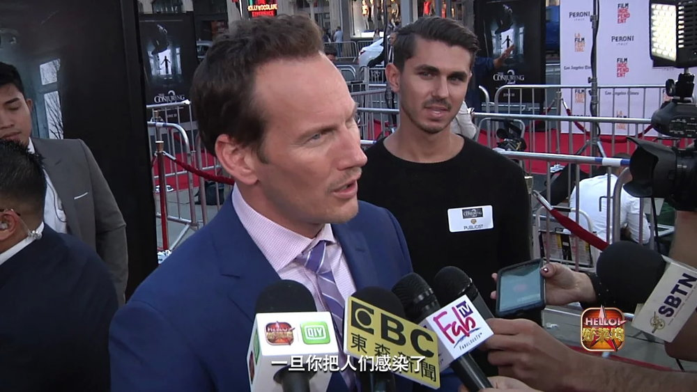 Conjuring 2 Premiere from -