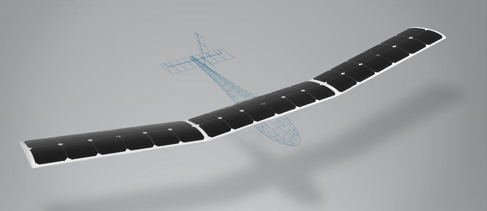 LIGHTWEIGHT - Using solar cells as part of the composite structure offsets their weight, resulting in little to no weight penalty to the overall vehicle.