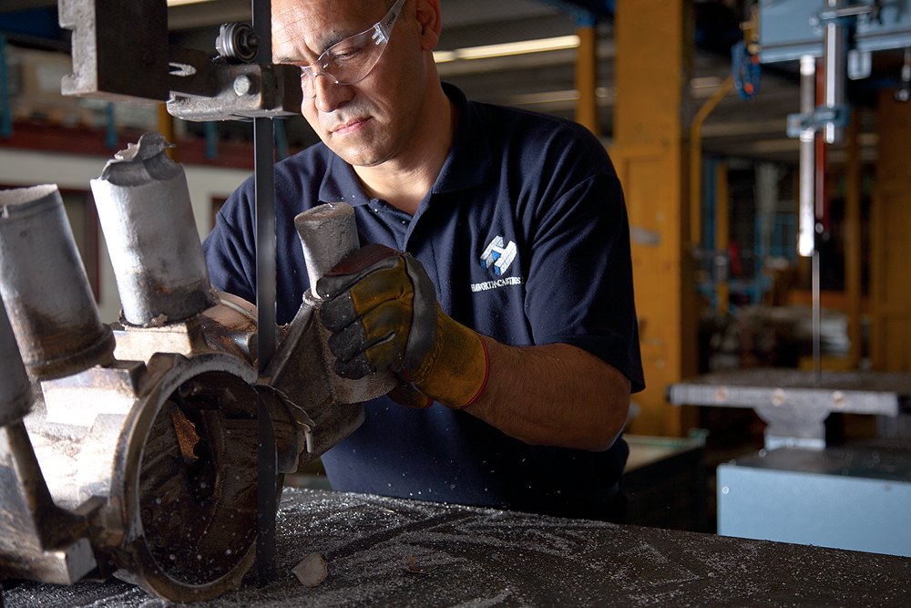 Haworth Castings Safety in Metal Casting