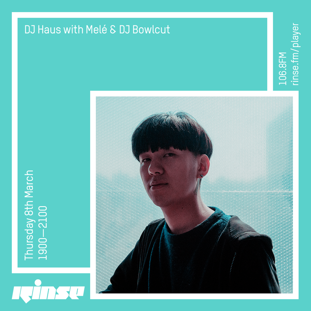 Rinse FM  - My photo of DJ Bowlcut used for his Rinse FM guest mix.