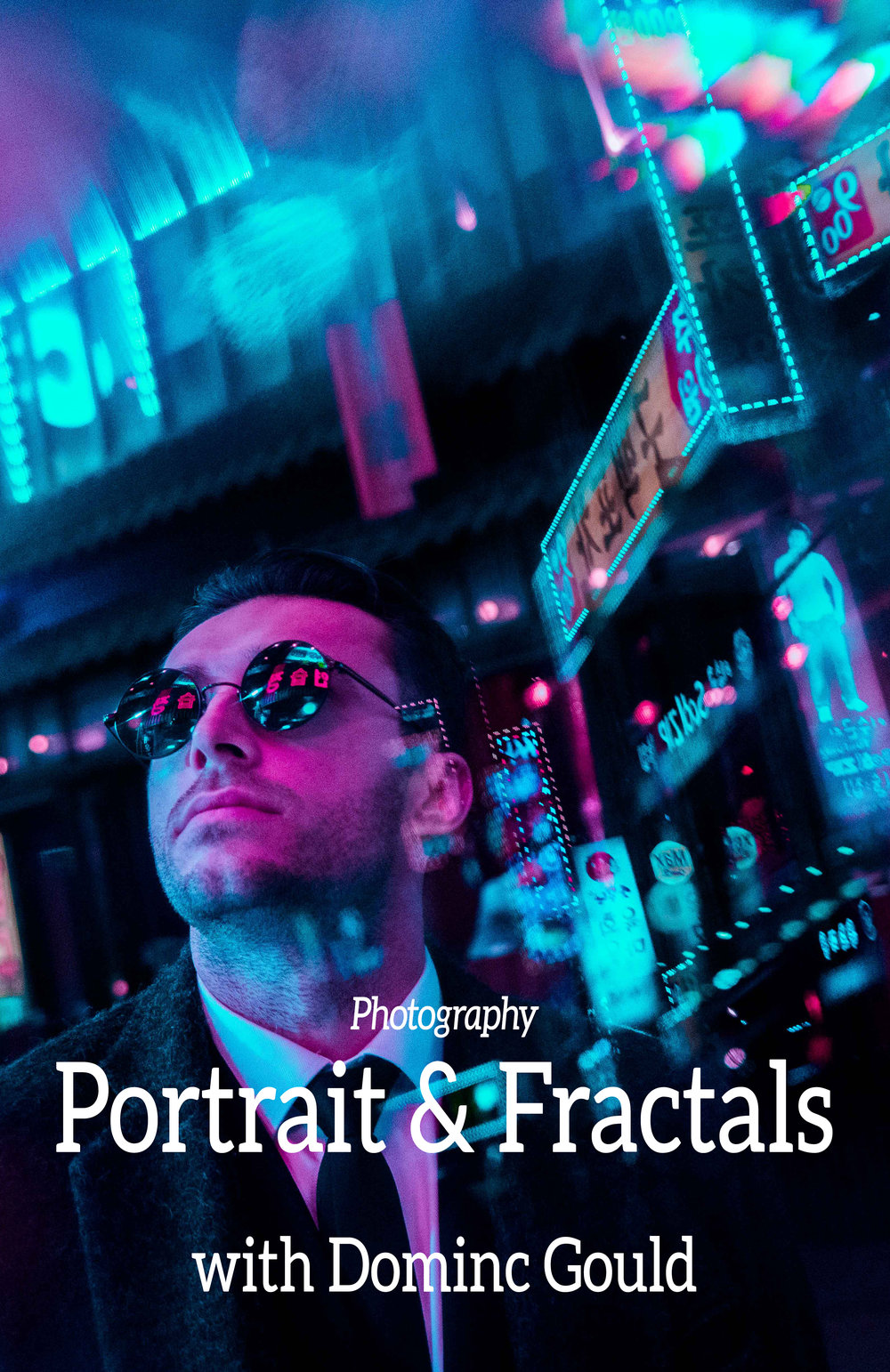 Portrait & Fractals - With model Dominic Gould