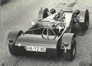 1969 MK10 - One-off road car based on widened MK8 chassis.