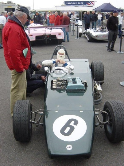 1967 MK6B - Clubmans Formula and Formula 2 car (with a change of engine and removal of mud-guards) - a development of the MK6. Successes included multiple Clubmans formula wins for various drivers including Max Mosley.