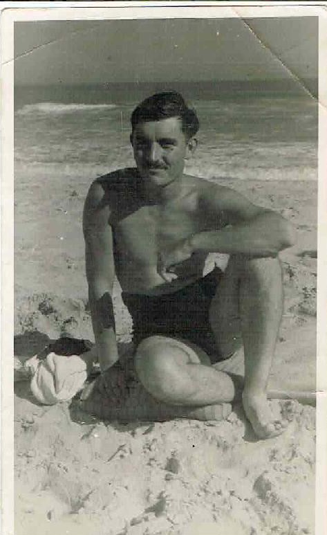 On the beach in ACRA while stationed in West Africa with Royal Signals in 1949-page-001.jpg