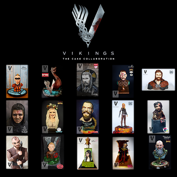 VIKINGSTHE CAKE COLLAB 2018 -