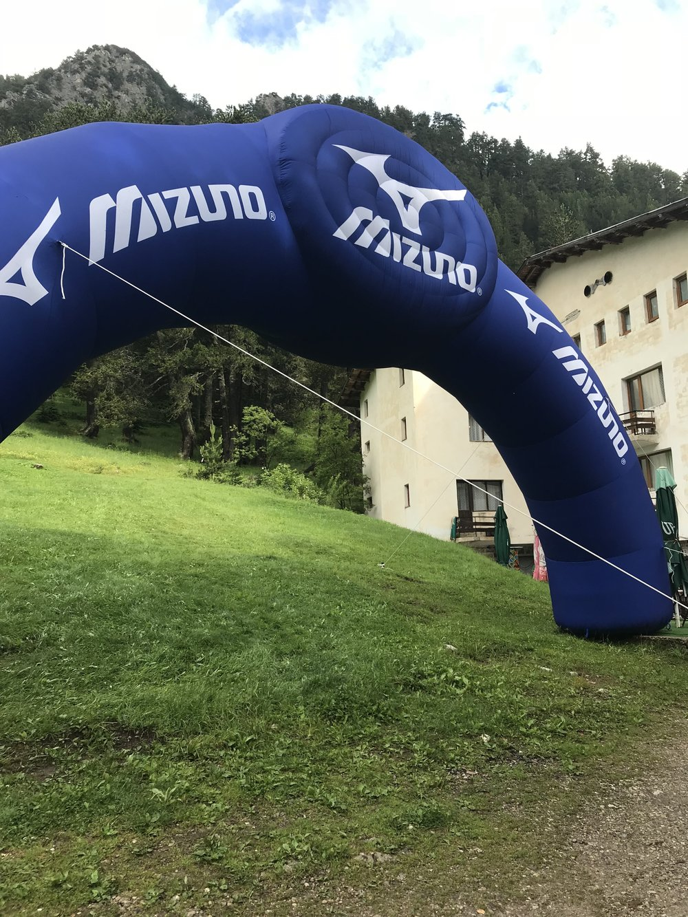 The start line at Banderitsa Chalet