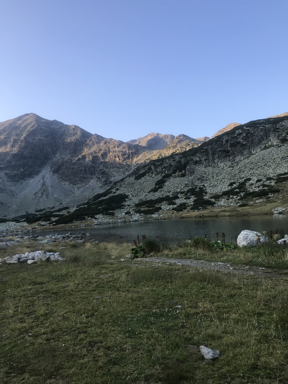 Sunrise in Rila during Adventure Sky Run 2018