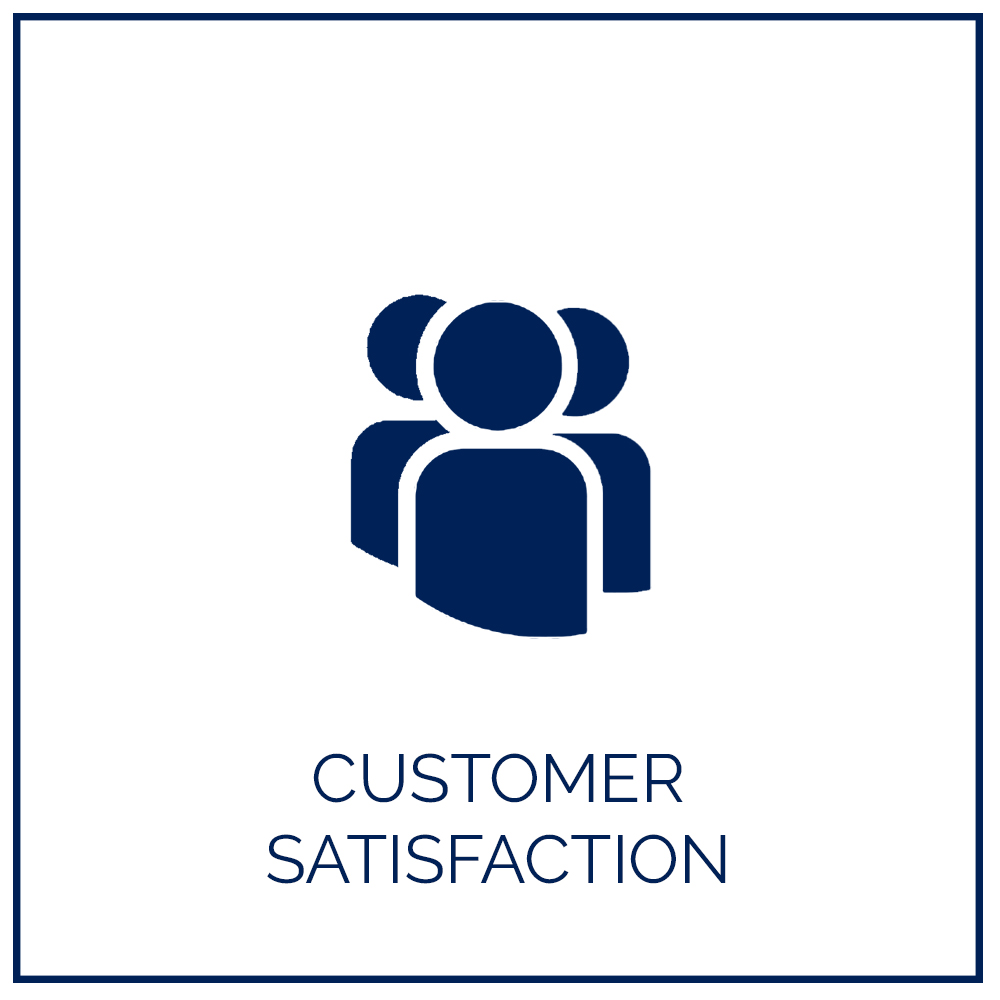 A satisfied customer is the best business strategy and we do not compromise in making the experience worthwhile.