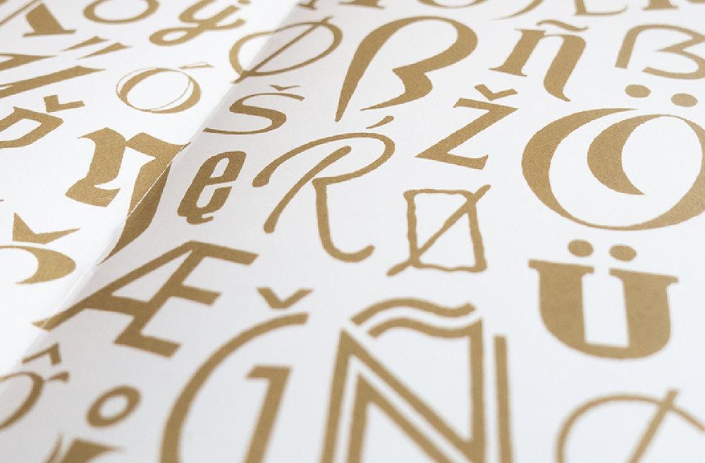 Diacritics Pattern