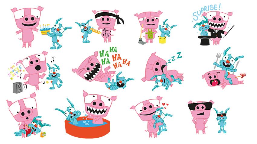 Supertext Stickers