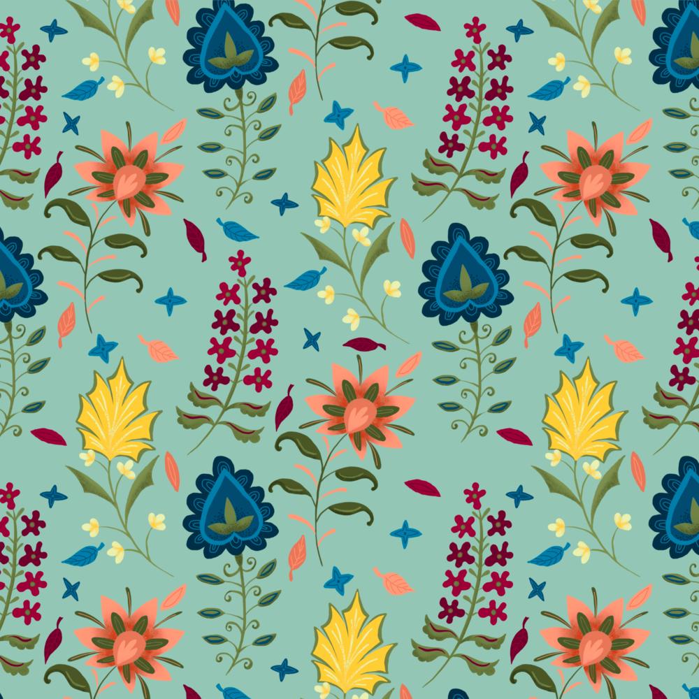 Lotte Kölare / Meadow Pattern