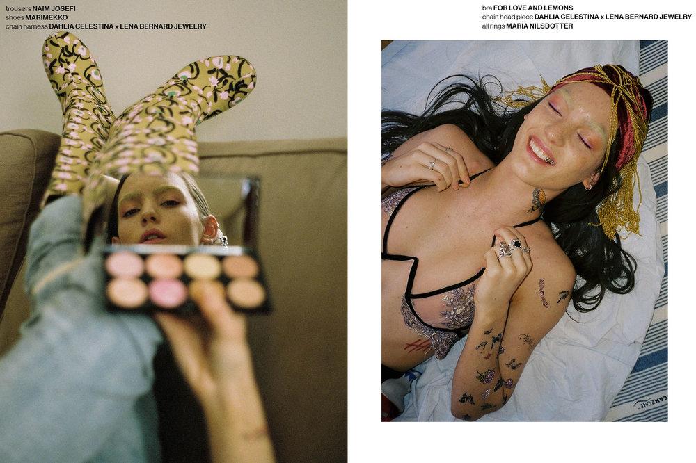 SUS CONTENT x Odalisque Magazine